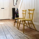 yellow ercol chairs