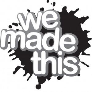 We Made This B&W logo